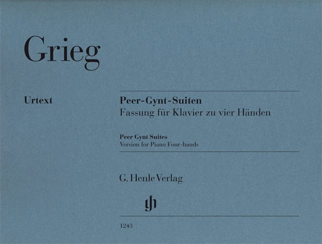 Edward Grieg - Peer Gynt. 4 hands - Partition - di-arezzo.co.uk