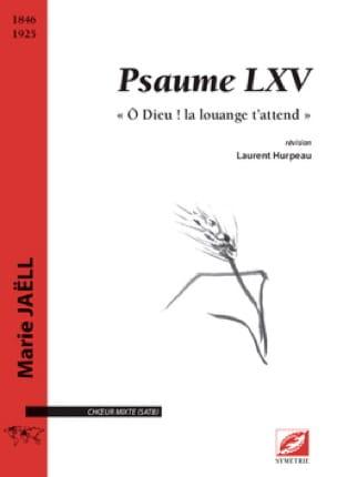 Psaume LXV - Marie Jaëll - Partition - Chœur - laflutedepan.com