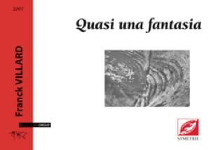 Quasi una fantasia - Franck Villard - Partition - laflutedepan.com