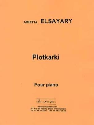 Plotkarki - Arletta Elsayari - Partition - Piano - laflutedepan.com