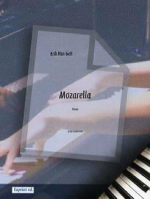 Mozarella - Erik VAN GEIT - Partition - Piano - laflutedepan.com