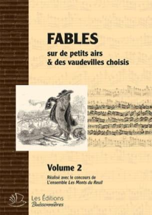 Fables du 18ème. Livre 2 - Partition - Chœur - laflutedepan.com