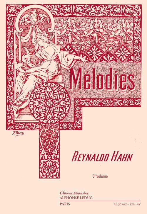 Reynaldo Hahn - Volume 3 Melodies - Partition - di-arezzo.co.uk