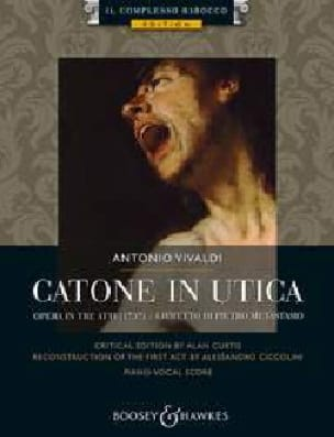 VIVALDI - Catone in Utica RV 705 - Partition - di-arezzo.co.uk