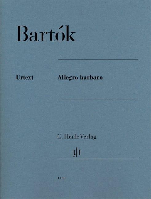 Allegro Barbaro - BARTOK - Partition - Piano - laflutedepan.com
