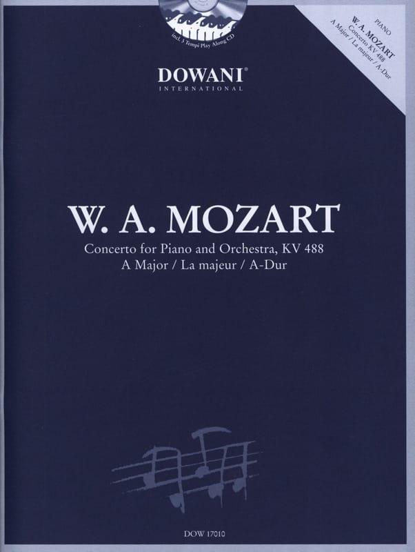 Concerto Pour Piano n° 23 En la Majeur KV 488 Avec 2 CD - laflutedepan.com