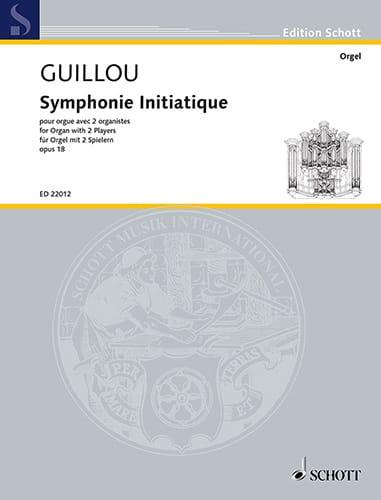 Symphonie initiatique op. 18 - Jean Guillou - laflutedepan.com