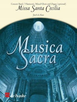 Missa Sancta Cecilia - Jacob De Haan - Partition - laflutedepan.com