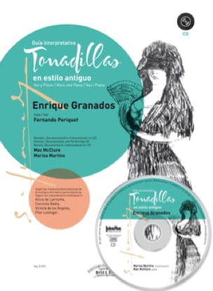Enrique Granados - Tonadillas in antiguo estilo - Partition - di-arezzo.co.uk