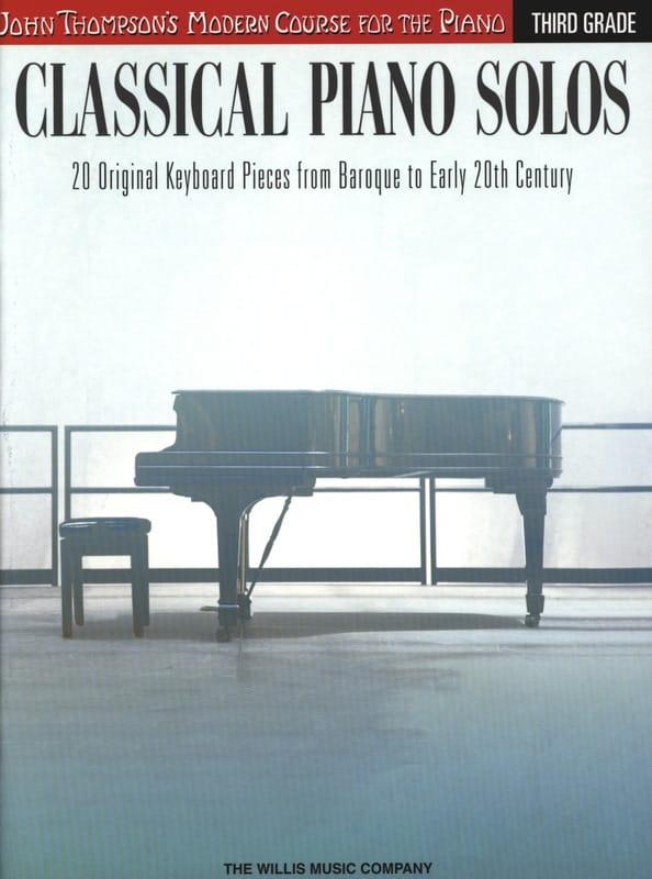 Classical piano solos - Volume 3 - Partition - laflutedepan.com