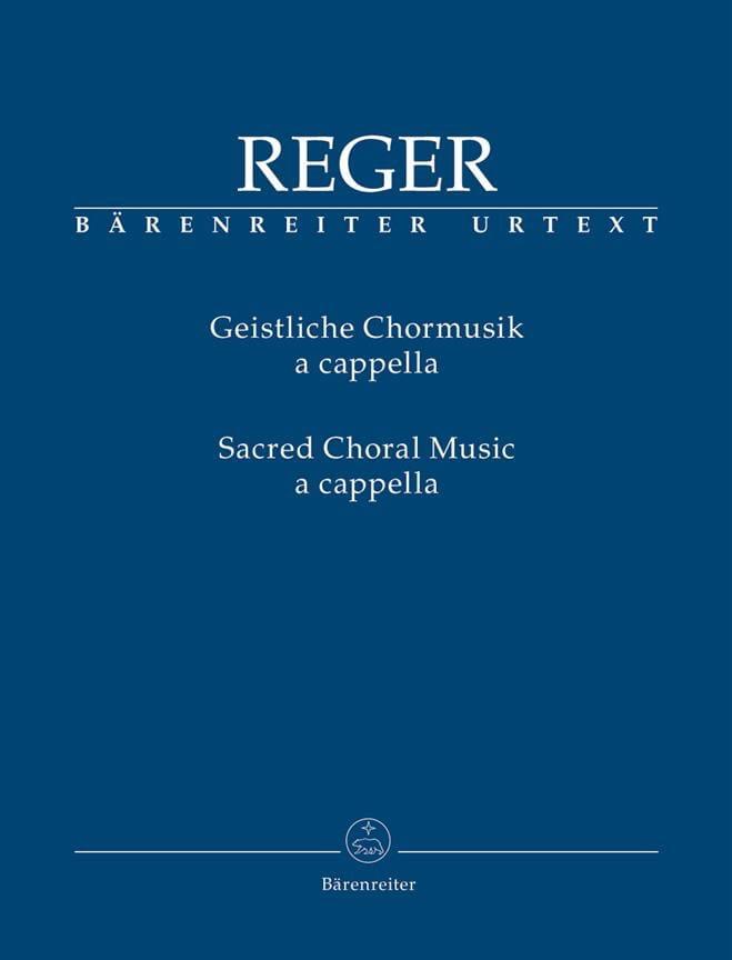 Geistliche Chormusik a cappella - Max Reger - laflutedepan.com
