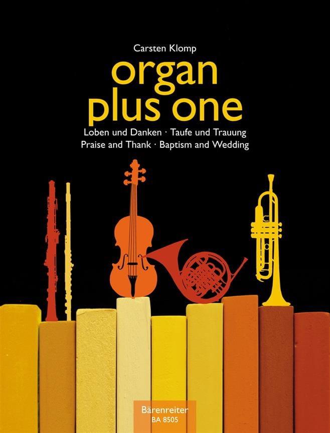 Organ Plus one. Baptêmes et mariage - Carsten Klomp - laflutedepan.com