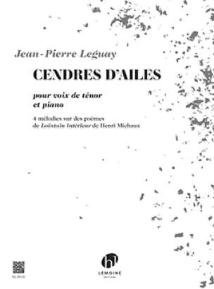 Cendres d'ailes - Jean-Pierre Leguay - Partition - laflutedepan.com