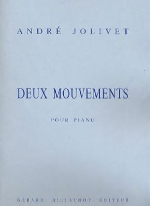 2 Mouvements - André Jolivet - Partition - Piano - laflutedepan.com