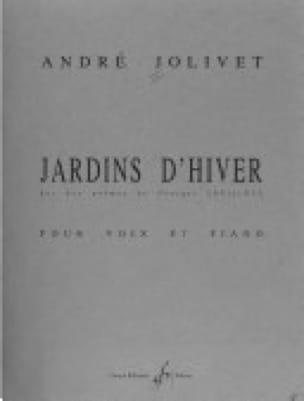 Jardins D'hiver - André Jolivet - Partition - laflutedepan.com