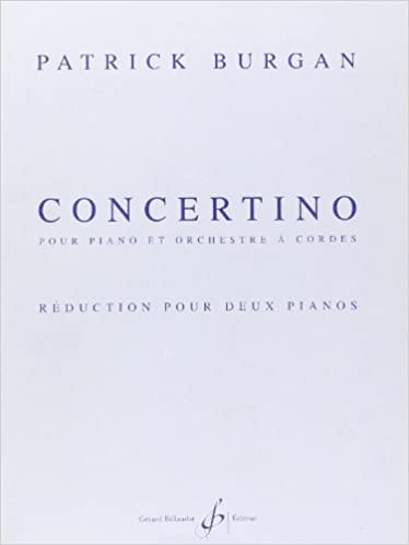 Concertino. 2 Pianos - Patrick Burgan - Partition - laflutedepan.com