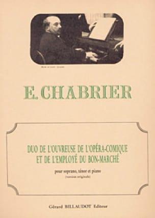 Duo de L'ouvreuse de L'opéra Comique et L'employé Du Bon Marché - laflutedepan.com