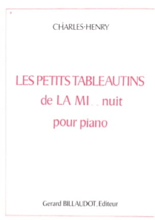 Charles-Henry - The Little Tableautins of the Mi .. Night - Partition - di-arezzo.com