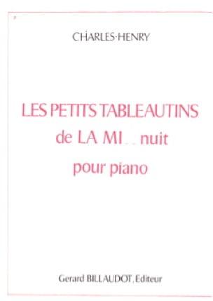 Charles-Henry - Les Petits Tableautins de la Mi .. Nuit - Partition - di-arezzo.fr