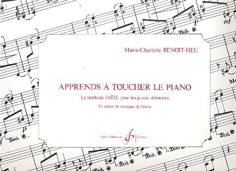 Marie-Charlotte Benoit-Heu - Learn To Touch The Piano - Partition - di-arezzo.com