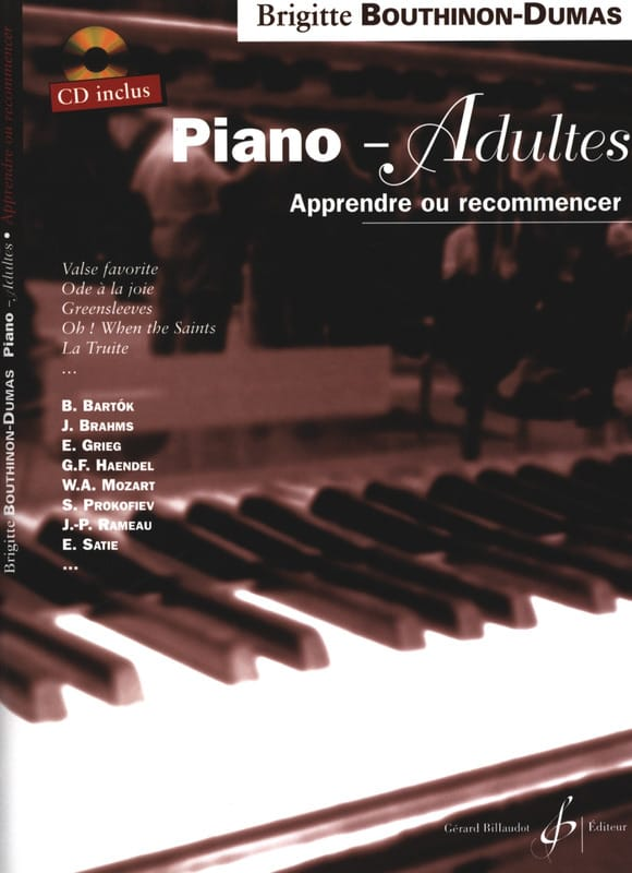 Brigitte Bouthinon-Dumas - Piano Adults - Partition - di-arezzo.com