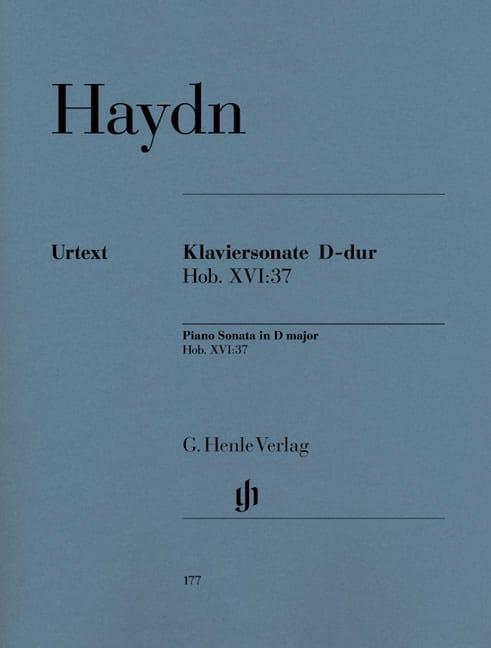 HAYDN - Sonata For Piano D Major Hob 16-37 - Partition - di-arezzo.com