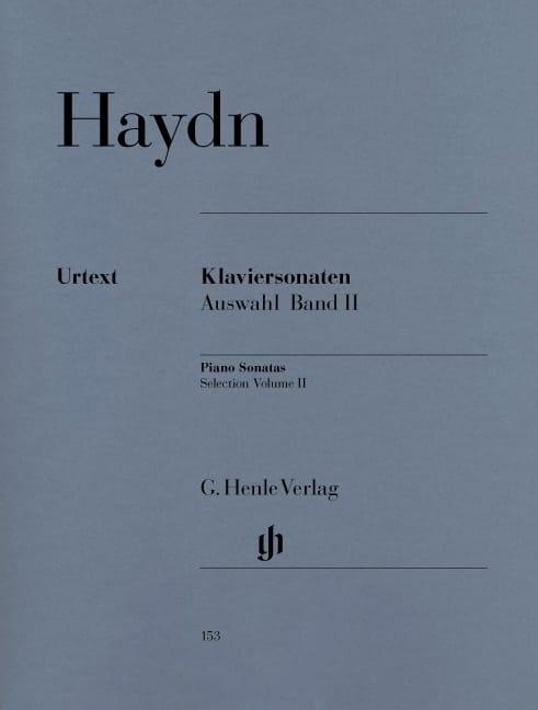 HAYDN - Sonatas chosen for piano Volume 2 - Partition - di-arezzo.com