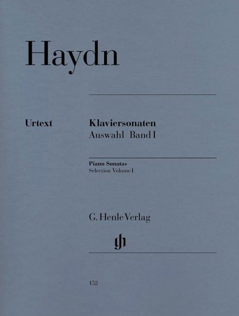 HAYDN - Selected Sonatas for Piano Volume 1 - Partition - di-arezzo.com