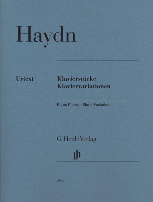 HAYDN - Klavierstücke. Klaviervariationen - Partition - di-arezzo.com