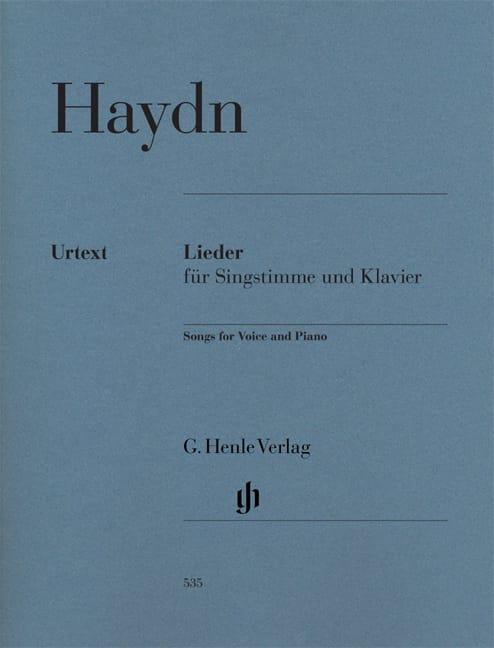 Lieder - HAYDN - Partition - Mélodies - laflutedepan.com