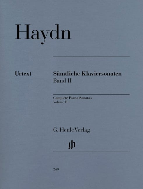 HAYDN - Complete Sonatas For Piano Volume 2 - Partition - di-arezzo.co.uk