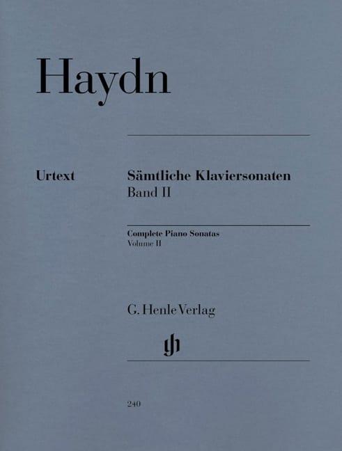 HAYDN - Complete Sonatas For Piano Volume 2 - Partition - di-arezzo.com