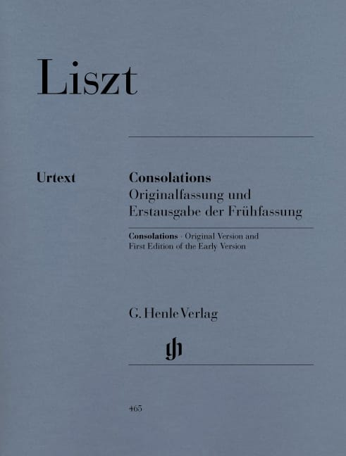 Franz Liszt - consolations - Partition - di-arezzo.co.uk