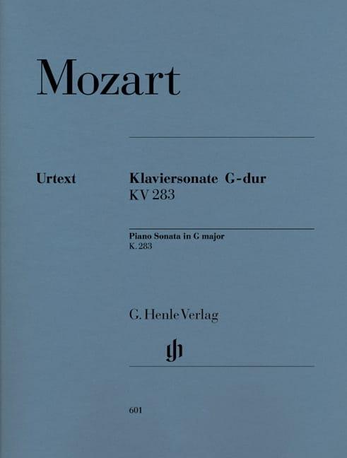 MOZART - Sonata para piano en sol mayor K. 283 189h - Partition - di-arezzo.es