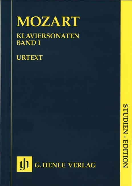 Sonates Complètes. Volume 1 - MOZART - Partition - laflutedepan.com