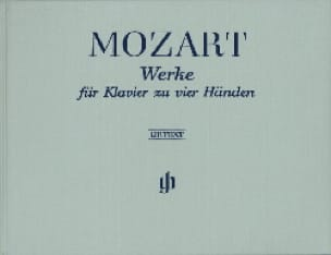 Oeuvres Pour Piano A 4 Mains. Edition Reliée - laflutedepan.com
