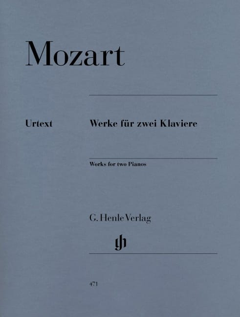 MOZART - Works for 2 Pianos - Partition - di-arezzo.co.uk