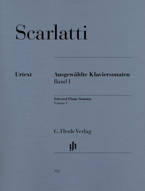 Domenico Scarlatti - Selected sonatas for piano. Volume 1 - Partition - di-arezzo.co.uk