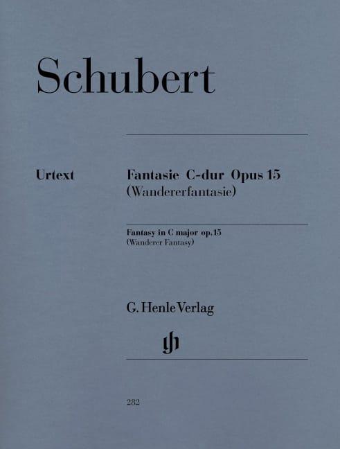 Fantaisie en Do Majeur Opus 15 D 760 - SCHUBERT - laflutedepan.com