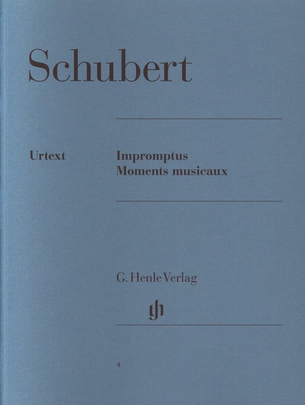 SCHUBERT - Impromptus and Musical Moments - Partition - di-arezzo.com