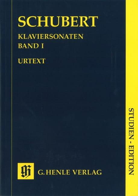 Sonates Complètes - Volume 1 - SCHUBERT - Partition - laflutedepan.com
