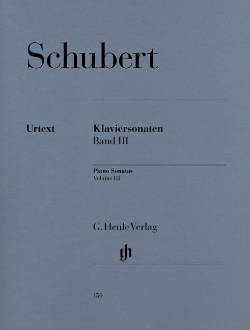 Sonates Pour Piano - Volume 3 - SCHUBERT - laflutedepan.com