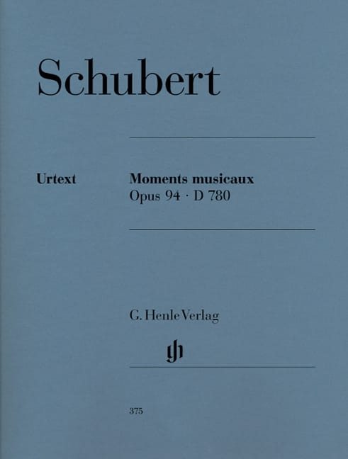 SCHUBERT - Musical Moments D 780 Opus 94 - Partition - di-arezzo.co.uk