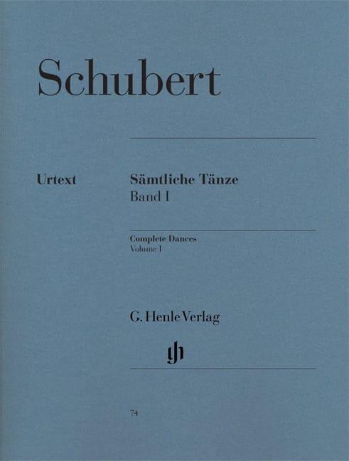 Sämtliche Tänze. Volume 1 - SCHUBERT - Partition - laflutedepan.com