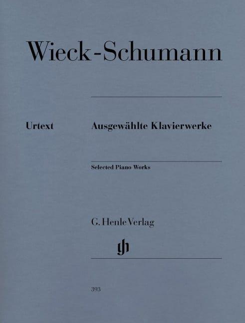 Clara Schumann - Oeuvres choisies pour piano - Partition - di-arezzo.fr