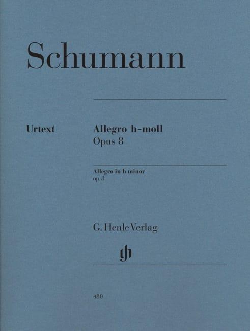 Allegro Si Mineur Opus 8 - SCHUMANN - Partition - laflutedepan.com