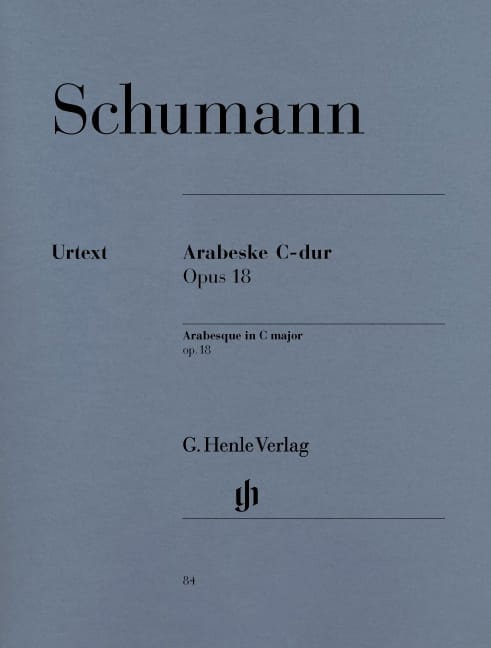 SCHUMANN - Arabesque In C Major Opus 18 - Partition - di-arezzo.co.uk
