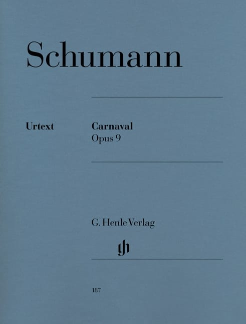 SCHUMANN - Carnival Opus 9 - Partition - di-arezzo.co.uk