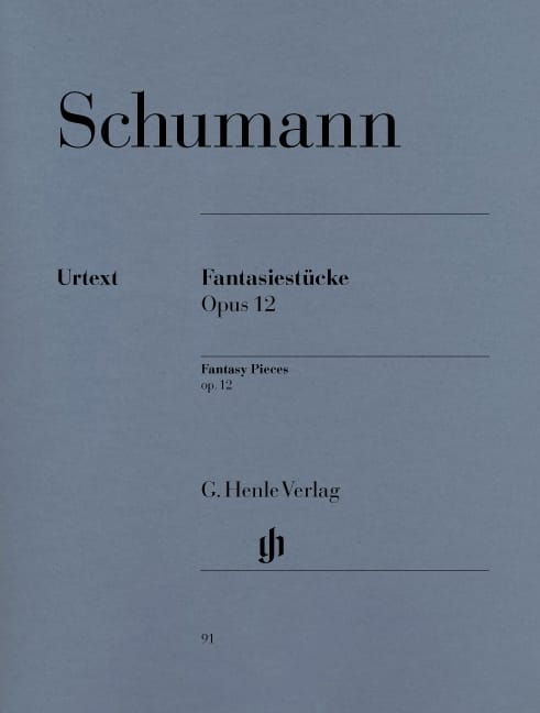 SCHUMANN - Fantasiestücke Opus 12 - Partition - di-arezzo.co.uk
