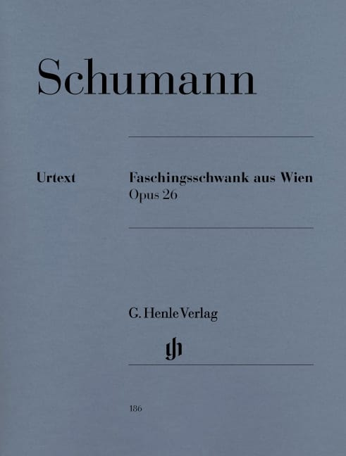 SCHUMANN - Vienna Carnival Opus 26 - Partition - di-arezzo.co.uk